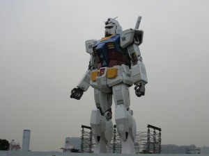 True Blue 1/1 scale RX-78 Gundam from Odaiba, Japan!